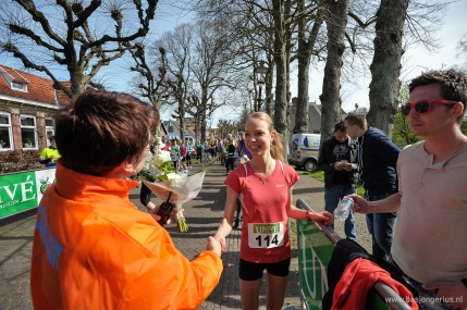 Winnares van de 10km, Sigrid Postma.